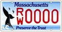 Massacusetts Preserve the Trust License Plate